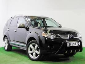 MITSUBISHI OUTLANDER WARRIOR + 7 SEATS + ROOF RAILS + ALLOYS + 4 X 4