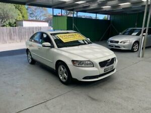 2008 Volvo S40 M Series MY09 S White Sports Automatic Sedan Croydon Burwood Area Preview