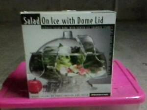 Fruit Keeper/ Salad On Ice With Dome Lid (Prodyne). Darwin CBD Darwin City Preview