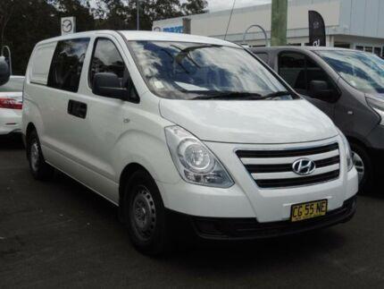 2015 Hyundai iLOAD TQ MY15 Crew White 5 Speed Automatic Van