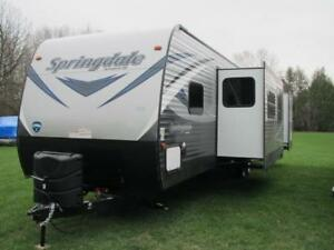 2018 SPRINGDALE 38FQ-2 BEDROOM PARK MODEL $34995-FINANCING!!!