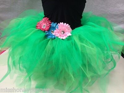 Neon Tutu Skirt 80s Fancy Dress Hen Party Fun Run Costume Plus Size Jungle Disco - 80s Costumes Plus Size