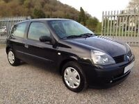 Renault Clio 1.2 Campus, Perfect 1st Car, 1 Owner, 27000 Miles Only, New MOT, Full Service History