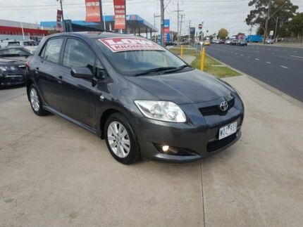 2008 Toyota Corolla ZRE152R Levin ZR 4 Speed Automatic Hatchback Deer Park Brimbank Area Preview