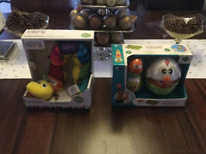 Brand New Toys Perfect for Spring! Stacking chIcks & Caterpillar