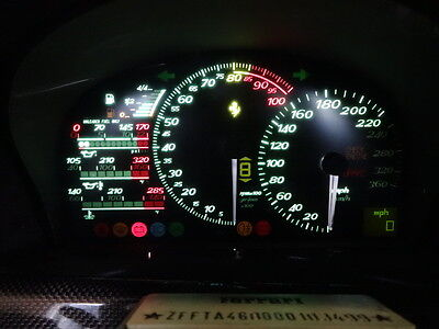 Ferrari F50 Dash Instrument Back lighting upgrade