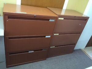 3 Drawer Lateral FIling Cabinets