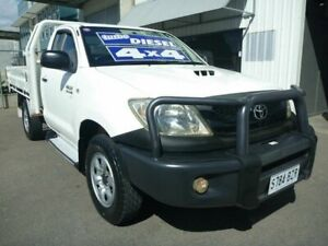 2009 Toyota Hilux KUN26R MY09 SR White 5 Speed Manual Cab Chassis Edwardstown Marion Area Preview