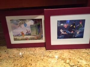 Winnie and Peter Pan Framed pictures