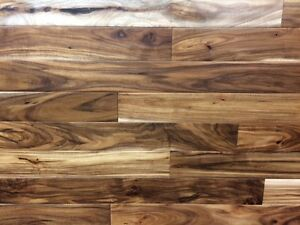 "In Stock ~ Acacia 3 1/2"" hardwood. Smooth & HandScraped"
