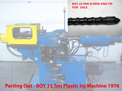 22mm Plastic Inj Screw Boy 15 Ton Plastic Injection Molding Machine Parting Out