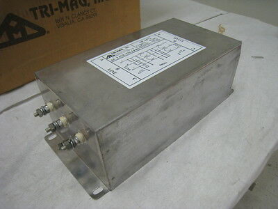 2 NEW TriMag SF-1572 active line filter, 60A, 440VC, 47-63Hz