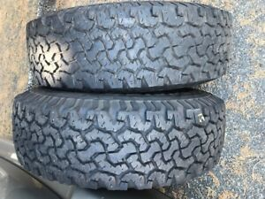 4 Tires  NO CRACKS...LT215/75 R15 (Tubeless)...Burnaby