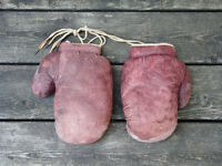 Vintage Olympiad Boxing Gloves