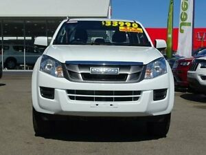 2014 Isuzu D-MAX MY14 SX Crew Cab White 5 Speed Sports Automatic Utility Garbutt Townsville City Preview