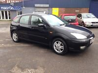 £795   2003 FORD FOCUS 1.6 - ONLY 66'000 MILES - BRAND NEW M.O.T - 5 DOOR