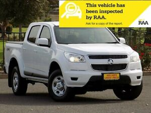 2016 Holden Colorado RG MY16 LS Crew Cab White 6 Speed Sports Automatic Utility Strathalbyn Alexandrina Area Preview