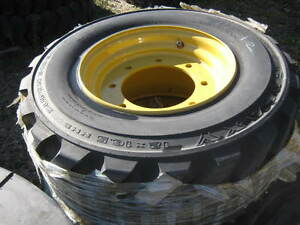 Various Unused Tires for Skidsteers & Loaders