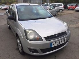 2006 Ford Fiesta, starts and drives very well, MOT until 10th December, 80,000 miles, owned by a lad
