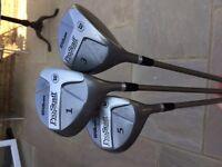 Wilson Pro Staff - graphite shafted woods 1-3-5