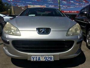 2004 Peugeot 407 ST Comfort Silver 4 Speed Tiptronic Sedan Braddon North Canberra Preview
