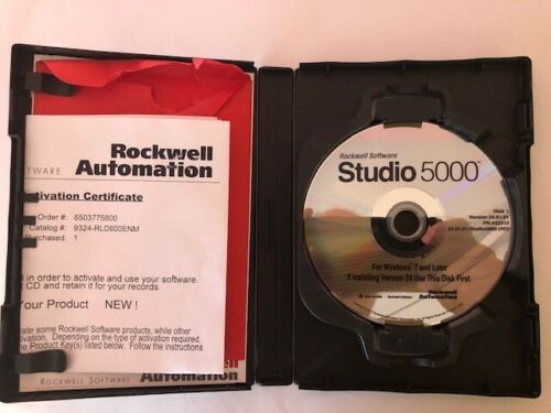 Rockwell Studio 5000 Software and MSI Laptop