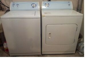 Inglis matching washer dryer for sale