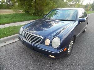 2000 Mercedes Benz E-320, Fully Loaded , Leather $2450