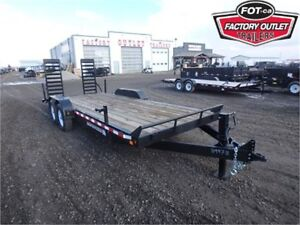 14K - 7 X 20 EQUIPMENT HAULER BY CANADA TRAILERS -* Tax In! *-