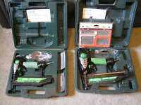 Hitachi Nailers, price reduced