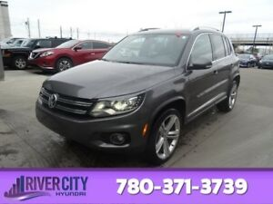 2015 Volkswagen Tiguan RLINE AWD Heated Seats,  Sunroof,  Panora