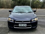 2013 Mitsubishi Lancer CJ MY13 LX Blue 6 Speed Constant Variable Sedan Mile End South West Torrens Area Preview