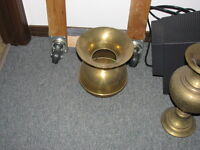 Brass cuspidor spittoon