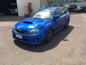 2012 Subaru WRX MY12 Premium (AWD) Blue 5 Speed Manual Sedan Darwin CBD Darwin City Preview