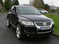 09 REG VW VOLKSWAGEN TOUAREG 3.0 V6 TDI CR 237BHP AUTOMATIC ALTITUDE 4X4 ESTATE