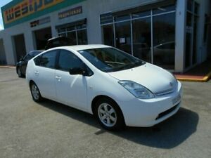 2004 Toyota Prius NHW20R Hybrid White Continuous Variable Hatchback Woodville Charles Sturt Area Preview