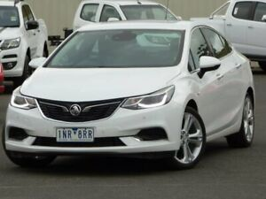 2018 Holden Astra BL MY18 LTZ White 6 Speed Sports Automatic Sedan Sunbury Hume Area Preview