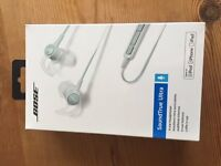 top bose in ear headphones for ipod, iphone and ipad . NEW and still in Shrink wrap