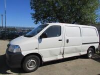 2006 56 Toyota Hiace 2.5 D4D 300, LWB, 1 COMPANY OWNER FROM NEW, 7 MONTHS MOT