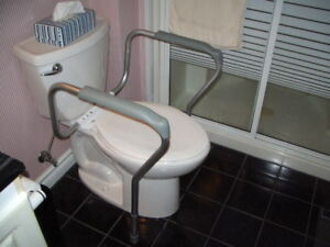 Drive Medical Toilet Safety Frame - Toilet Support - Like New
