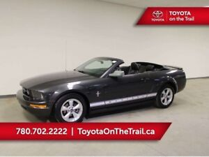 2007 Ford Mustang CONVERTIBLE; LOW KM, LEATHER, HEATED SEATS, A/