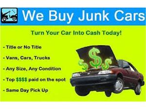 WE PAY CASH ON THE SPOT FOR CARS OR TRUCKS CLUNKER OR NOT!! Edmonton Edmonton Area image 7