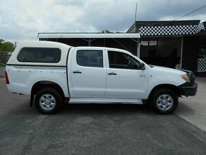 2006 Toyota Hilux GGN25R 06 Upgrade SR (4x4) White 5 Speed Manual Cab Chassis Wacol Brisbane South West Preview