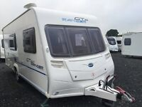 2009 Bailey GT60 4-5 Berth. Spotless ***15 MONTHS WARRANTY***Sep Shwr/Long Seats/Awning/Service
