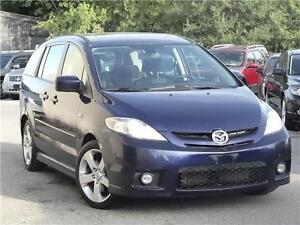 2007 Mazda Mazda5 GT-Accident free-Leather-Sunroof certified