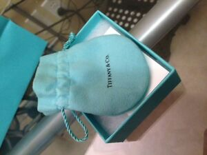 Tiffany pouch, gift box and bag $20.00
