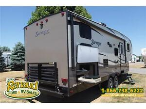 NEW 2016 Forest River Surveyor 275 BHSS Bunk House 5th Wheel Windsor Region Ontario image 3