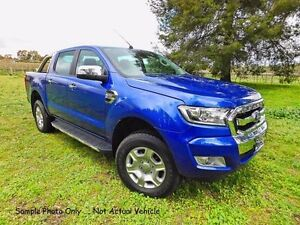 2016 Ford Ranger PX MkII XLT Double Cab Aurora Blue 6 Speed Automatic Utility Tanunda Barossa Area Preview