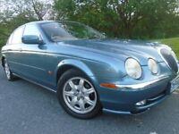 Jaguar S-Type 3.0 V6 4 dr Saloon, 2000 (W) Met Blue, Only 87k, 4 dr, 12 Months Mot