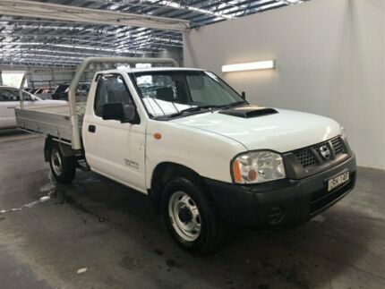 2013 Nissan Navara D22 Series 5 DX (4x2) White 5 Speed Manual Cab Chassis Beresfield Newcastle Area Preview